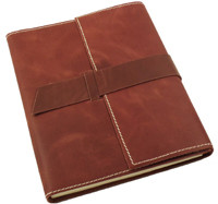 great gifts for new girlfriends leather journal