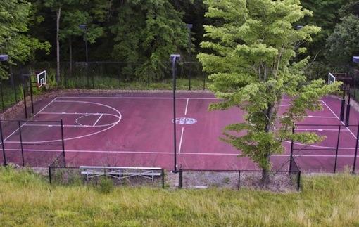 Mike Tyson basketball court