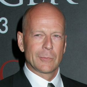Bruce Willis smirking