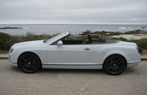 Bentley Continental Supersports Convertible at Pebble Beach