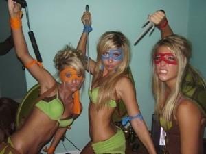 Teenage Mutant Ninja Turtles girls