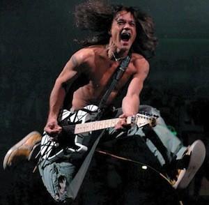 Eddie Van Halen was addicted to meth