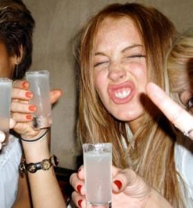 lindsay lohan drunk