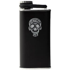 Gifts: Stanley Ink skull flask