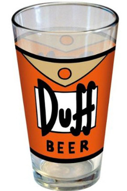 duff pint glass for beer