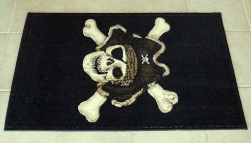 welcome mats for guys pirate
