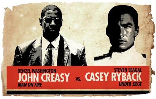 Action Heroes: Creasy vs. Ryback