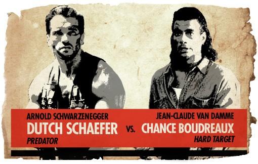 Ultimate Action-Hero Showdown: Dutch Schaefer vs. Chance Boudreaux
