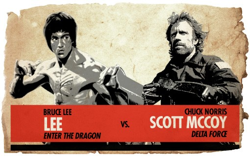 Ultimate Action-Hero Showdown: Lee vs. Scott McCoy