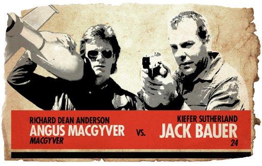 Action Heroes: MacGyver vs. Jack Bauer