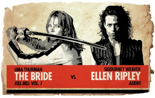 Action Heroes: The Bride vs. Ellen Ripley