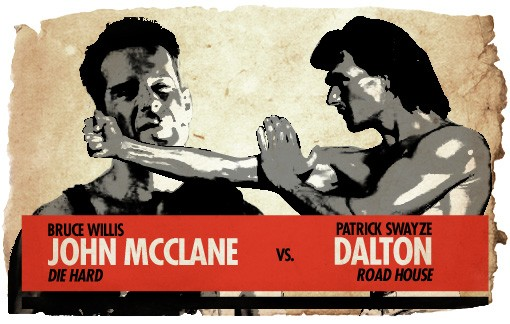 Ultimate Action-Hero Showdown: McClane vs. Dalton