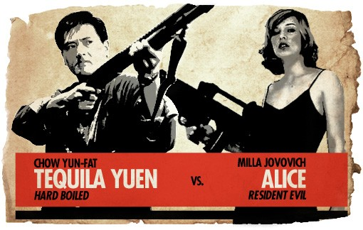 Ultimate Action-Hero Showdown: Tequila Yuen vs. Alice