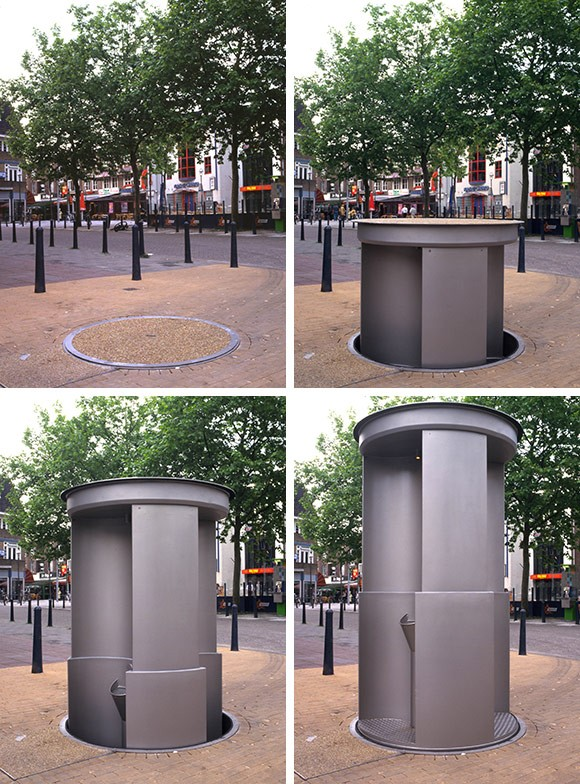 public lift toilet europe