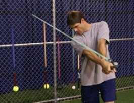 How To Hit A Softball Farther bands exercise