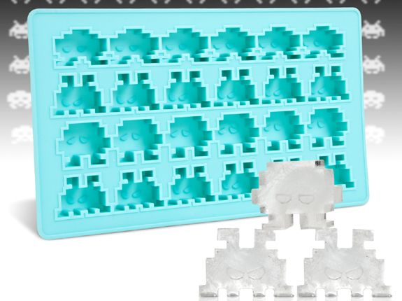 best ice cube trays for men space invaders