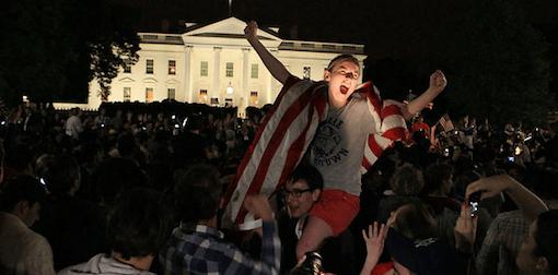 Was Osama Dead Yet? Osama Celebration 1