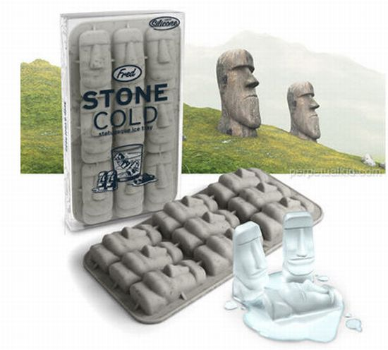 best ice cube trays for men stone face