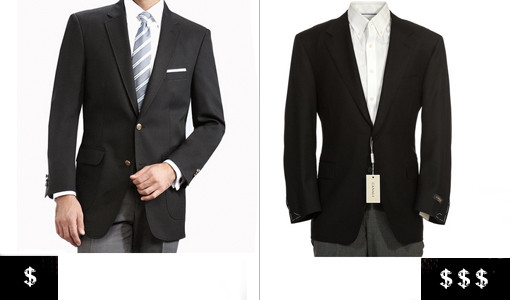 how to pick out a men's blazer basic black