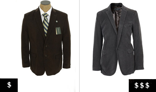 how to pick out a men's blazer cold weather