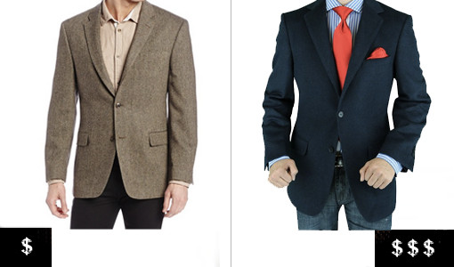 how to pick out a men's blazer weather