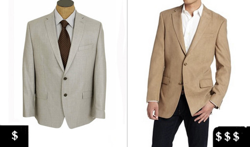 how to pick out a men' blazer lighter colors