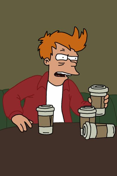 brain on coffee