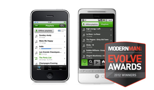 Evolve Awards Spotify