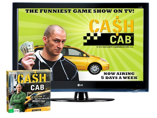 Cash Cab LG TV giveaway