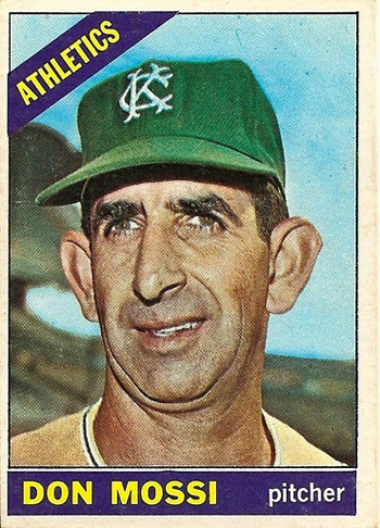 16 More Hilarious Old Baseball Cards don mossi