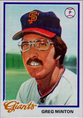 16 More Hilarious Old Baseball Cards greg minton