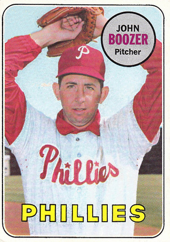16 More Hilarious Old Baseball Cards john boozer