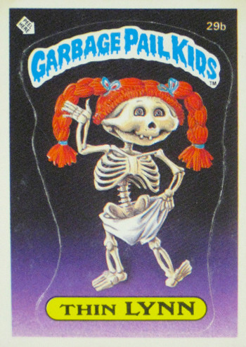 Garbage Pail Kids: Still Amazingly Gross Thin