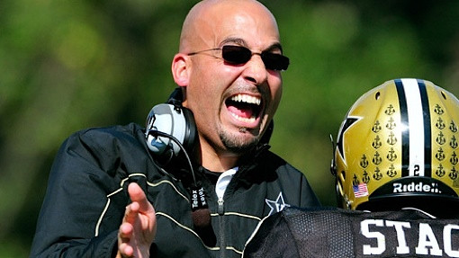 James Franklin screaming at someone's hot wife
