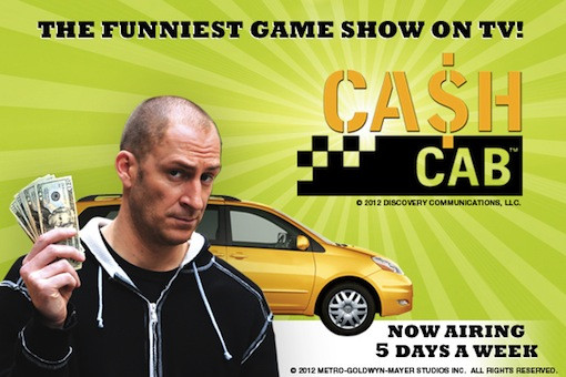 Cash Cab giveaway