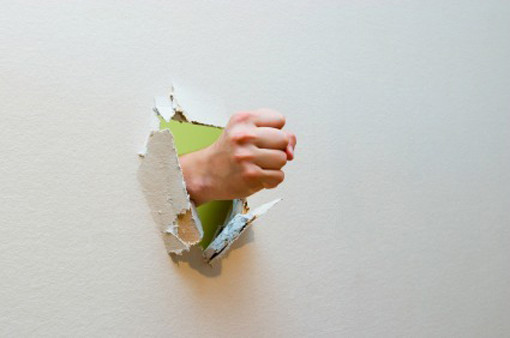 how to make a hole in a wall