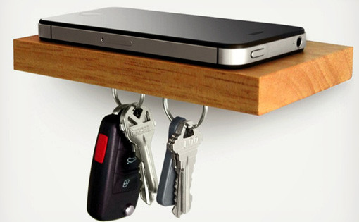 magnetic shelf plank
