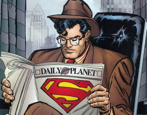 Superman, comic books, career changes, jobs