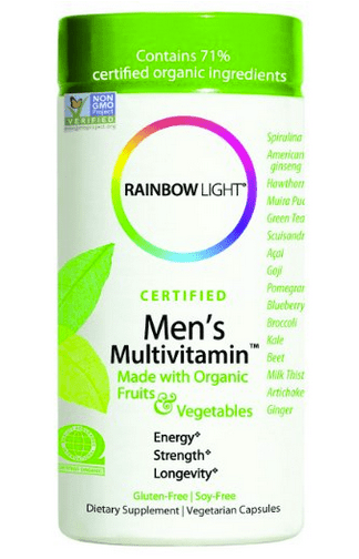 best multivitamin for men rainbow organic