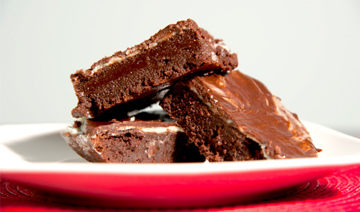 Guy Recipes: Baileys & Crème De Menthe Brownies