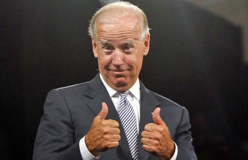 Joe Biden thumbs up