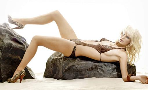 Caroline Winberg swimsuit