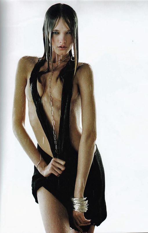 Vlada Roslyakova bathing suit