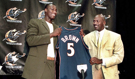 Kwame Brown The 10 Worst Wizards Ever