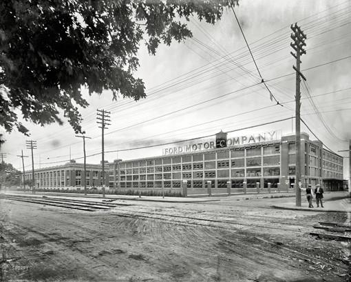 Ford Motor Co Photos: Detroit Looking Far Less Detroity