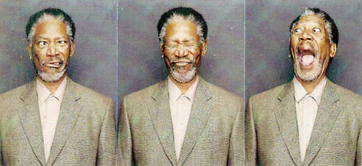 What's Morgan Freeman Thinking?