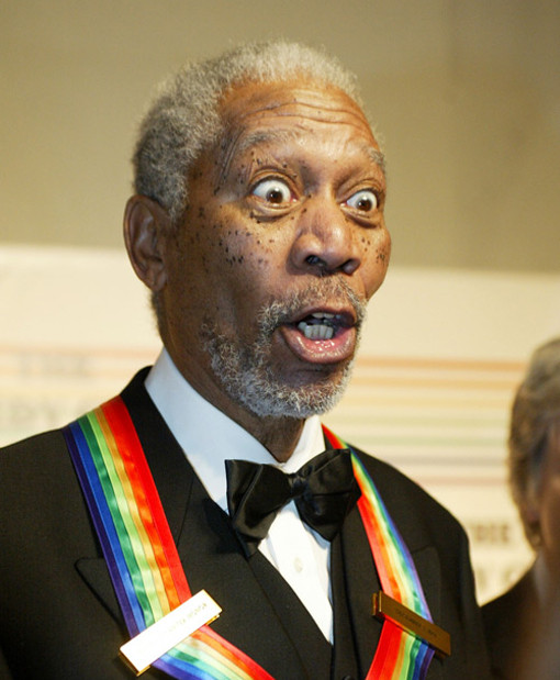 Morgan Freeman tux