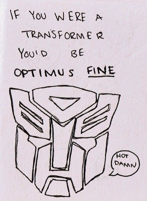 The Funniest Pick Up Lines transformer