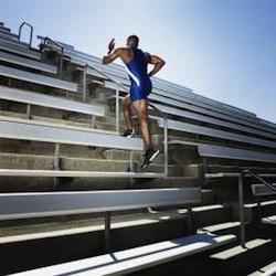 best workouts for men, bleachers