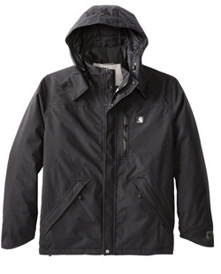 cool raincoats for men carhartt